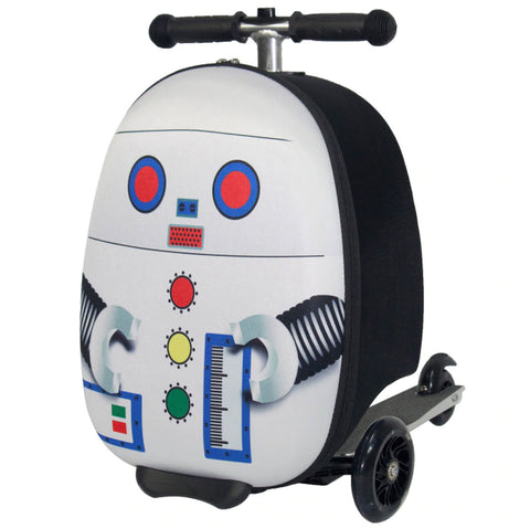 Robot Scooter Case Cabin Sized Luggage (16-Inch)