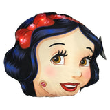 Snow White Head Shape LED Cushion