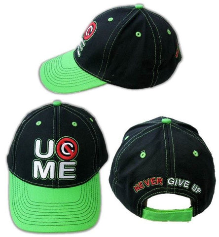 WWE John Cena Cap Black/Green