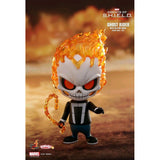 Hot Toys Ghost Rider Cosbaby with hellfire chain collectible figure