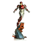 Marvel Spider-Man Homecoming: Iron Man Mark XLVII Battle Diorama Series Statue
