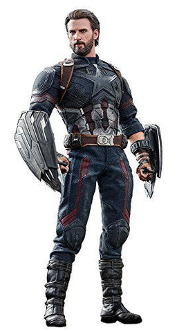 Avengers Infinity War Captain America Sixth Scale Action Figure
