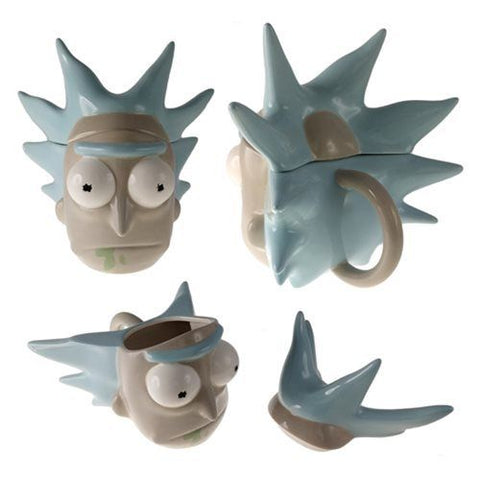 Rick and Morty Rick Sanchez Molded Mug