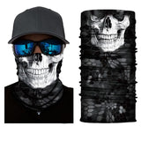 Neck Gaiter Face Mask Bandana Skull Face