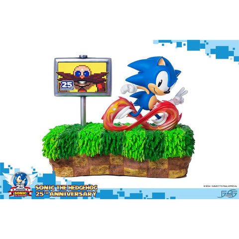 Sonic the Hedgehog 25th Anniversary Figure