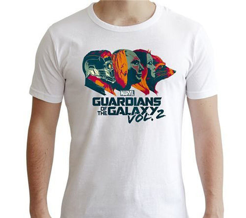 Guardians of the Galaxy Profiles Tee White
