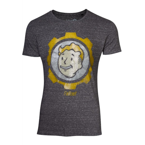Fallout T-Shirt Vault Boy Vintage Men's T-Shirt Blue