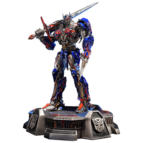 Transformers Last Knight King Optimus Prime Statue