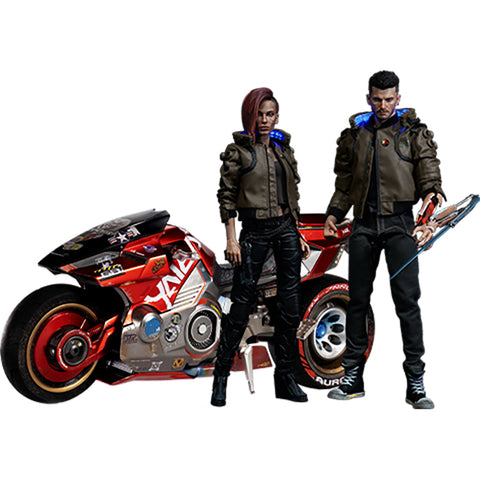 Cyberpunk 2077 Ultimate bundle V Male and Female with Yaiba Kusanagi Premium Action Figure (Preorder)