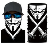 Neck Gaiter Face Mask Bandana V For Vendetta