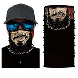 Neck Gaiter Face Mask Bandana Villain
