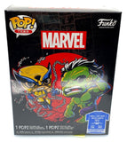 Marvel: X men - Wolverine (Fight) Pop! Vinyl Figure & T-Shirt Box Set