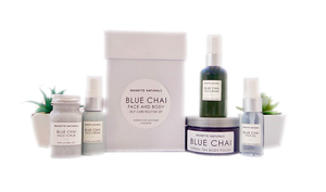 Blue Chai Self Care Routine Set