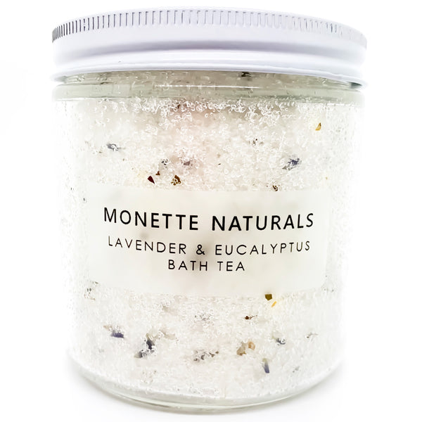 Lavender and Eucalyptus Bath Tea