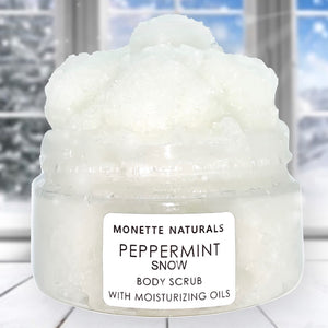Peppermint Snow Body Scrub