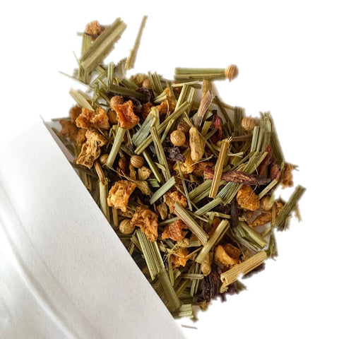Wintry Lemon Herbal Tea Blend - Seasonal