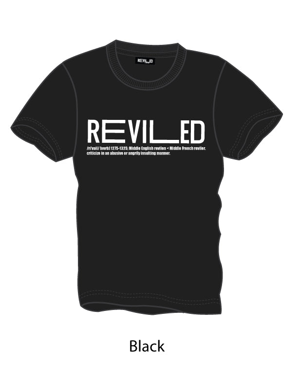 Organic Cotton Reviled Logo Unisex Tee