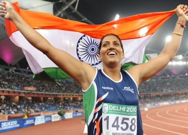 india champion woman athletics