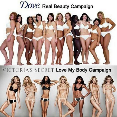 Body Shaming Lingerie Campaign