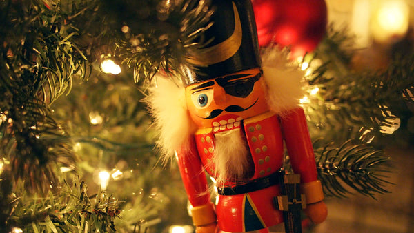 Nutcracker on a tree.