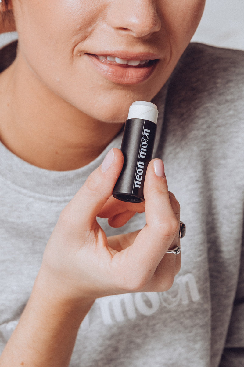 Neon Moon Carton Lip Balm - available at neonmoon.co