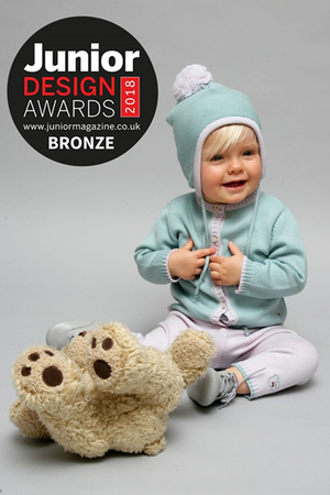 SCARLET RIBBON WINS BRONZE FOR BEST CHILDREN'S KNITWEAR COLLECTION 2018
