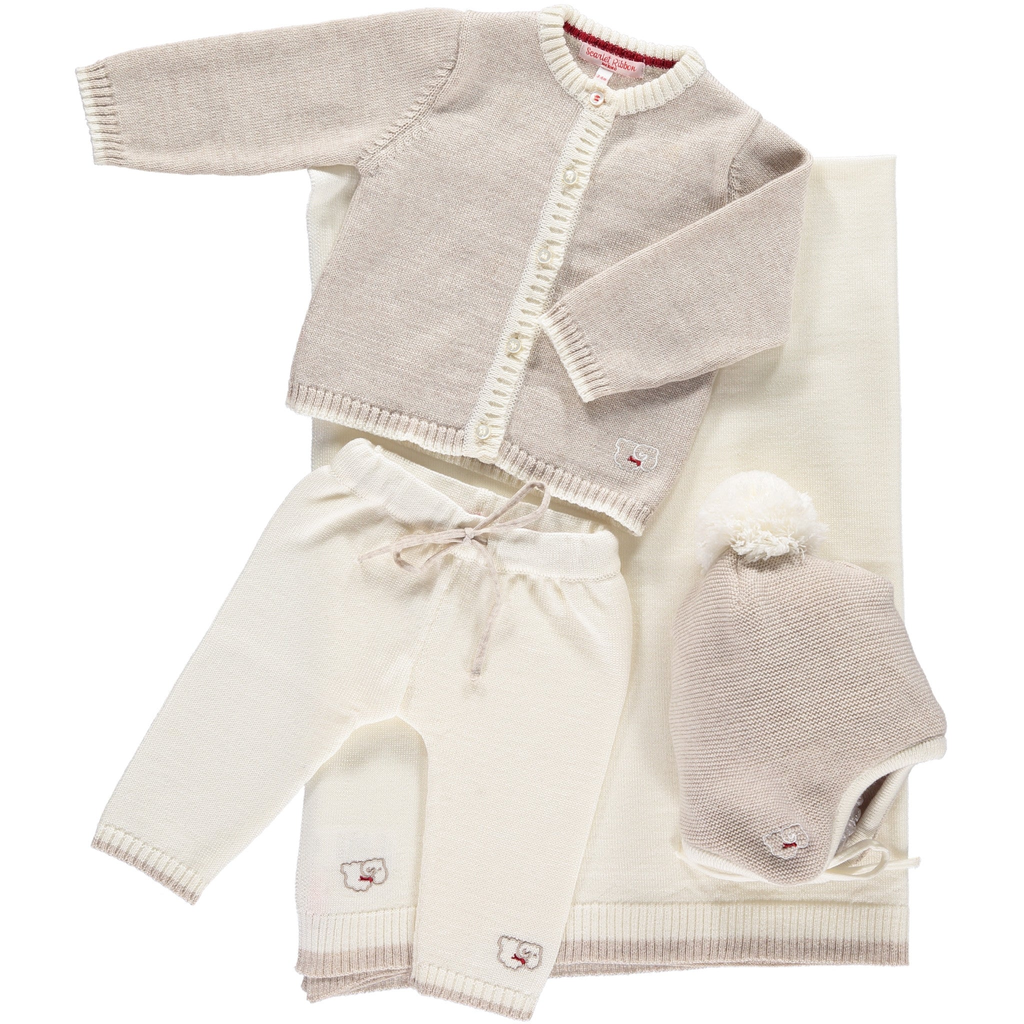 77d4b3cae Scarlet Ribbon Baby Gift Set - Cardigan   Leggings