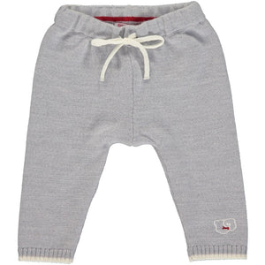 Merino Knitted Baby Leggings - Mist
