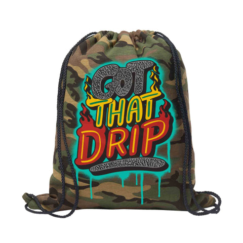 Got That Drip Fleece Cinch Pack - KUTNHAUS