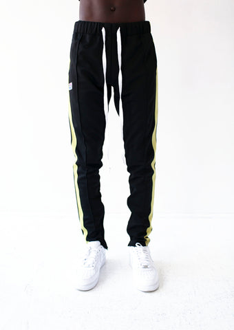 Contrast Color Side Tape Track Pants - RS1NEWYORK
