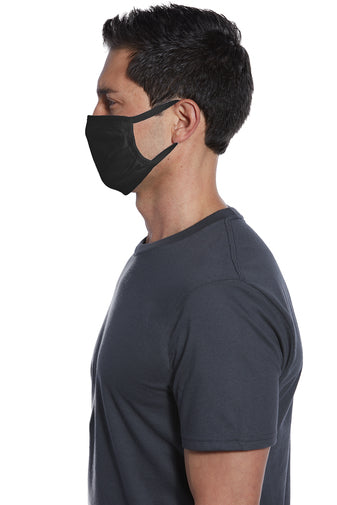 [5PACK] Cotton Knit Face Mask-Antimicrobial with Silver and Copper - KUTNHAUS