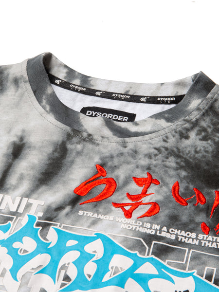 KAOS CULTURE S/S - GREY BLACK - Kut'N Haus