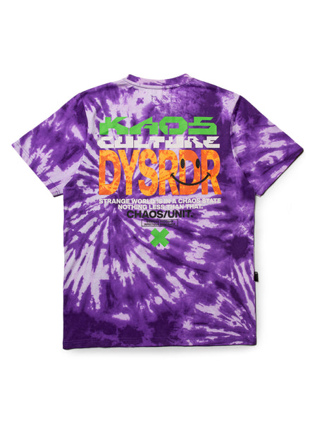 KAOS CULTURE S/S - PURPLE - KUTNHAUS