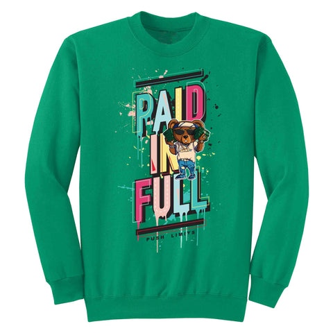 Paid in Full Crewneck Fleece L/S - KUTNHAUS