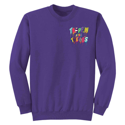 Treppin like the 80's Crewneck Fleece L/S