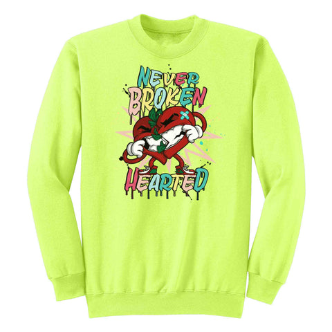 Never Broken Hearted Crewneck Fleece L/S - KUTNHAUS