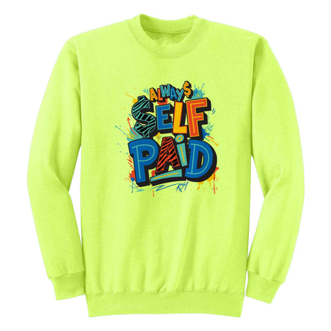 Always Self Paid Crewneck Fleece L/S - KUTNHAUS