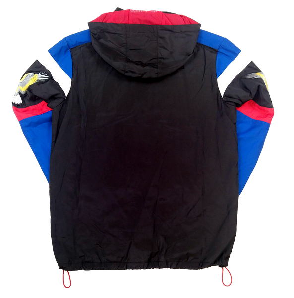 BLACK PANTHER PATCH COLOR BLOCK WINDBREAKER - KUTNHAUS