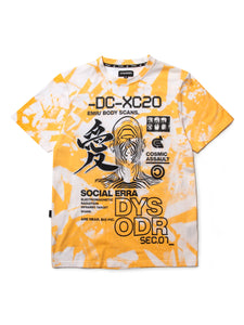 BODY SCAN BITMAP S/S - YELLOW - KUTNHAUS