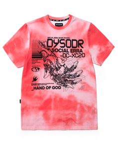 HAND OF GOD S/S -CORAL - Kut'N Haus