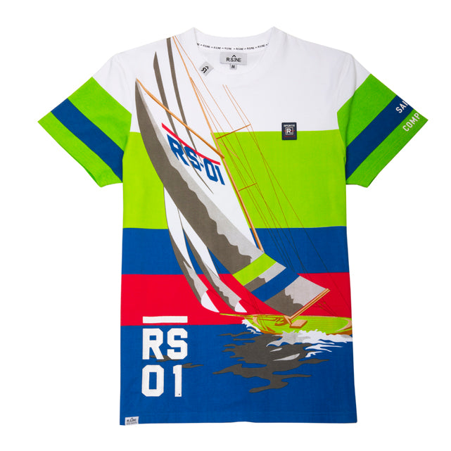 Sailing Competition  Colorblock Tee - RS1NEWYORK