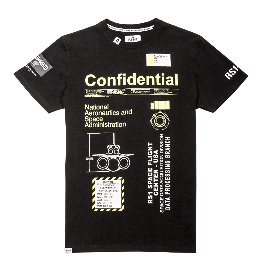 Confidential Critical Space Tee - RS1NEWYORK