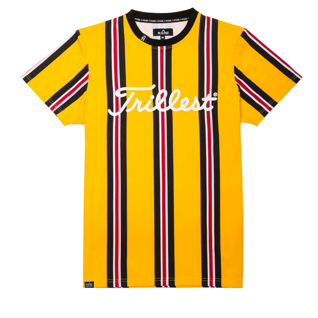 Trillest Allover Tape Stripe Tee - RS1NEWYORK