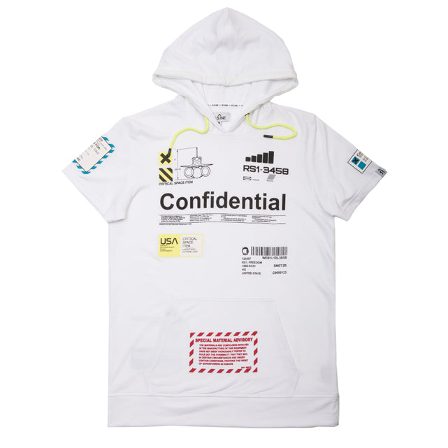 Confidential Space S/S Hoodie - RS1NEWYORK