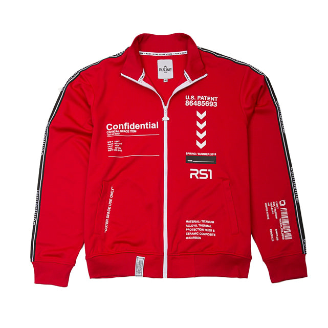 Confidential Track Jacket - RS1NEWYORK