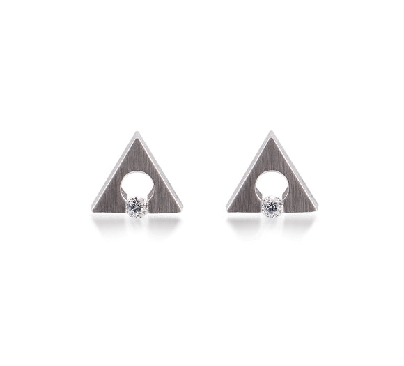 ER093W B.Tiff Supera Stainless Steel Earrings