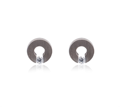 ER100W B.Tiff Supera Stainless Steel Earrings