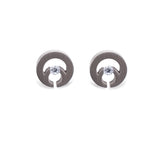 ER105W B.Tiff Komenco Stainless Steel Earrings