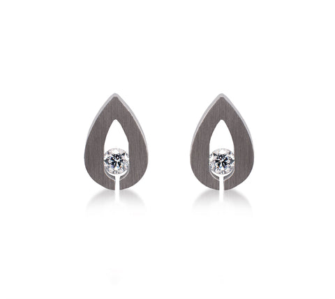 ER106W B.Tiff Drop Stainless Steel Earrings