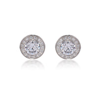 ER125W B.Tiff 1 ct Aŭreolo Stainless Steel Earrings